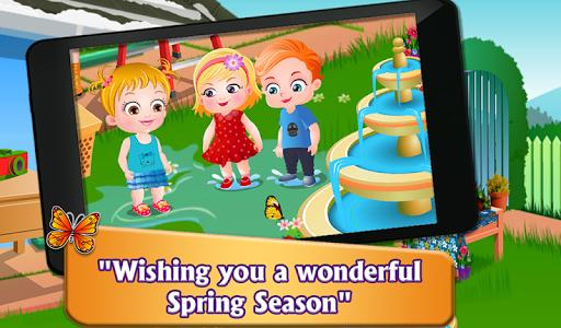 Baby Hazel Spring Time - عکس بازی موبایلی اندروید