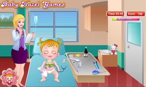 هیزل کوچولو دل درد داره - عکس بازی موبایلی اندروید