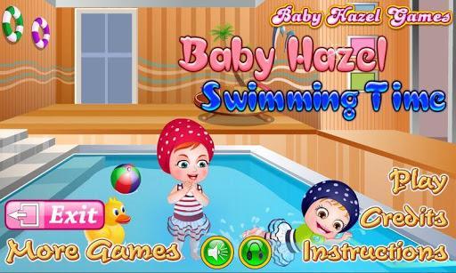 هیزل کوچولو شنا کردن یاد میگیره - عکس بازی موبایلی اندروید