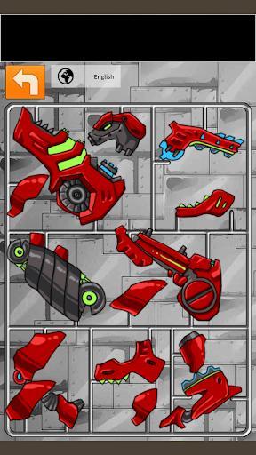Transform Dino Robot - General Mobilization - عکس بازی موبایلی اندروید