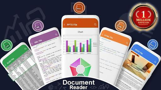 All Documents Reader: Documents Viewer - عکس برنامه موبایلی اندروید