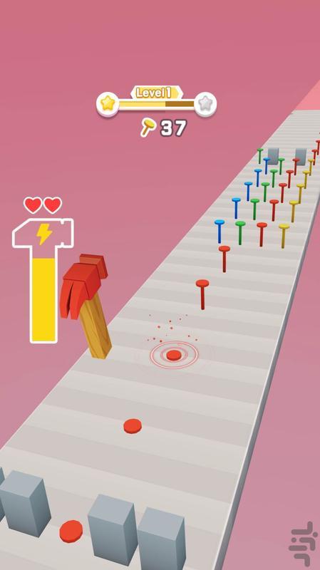 چکش بازی - عکس بازی موبایلی اندروید