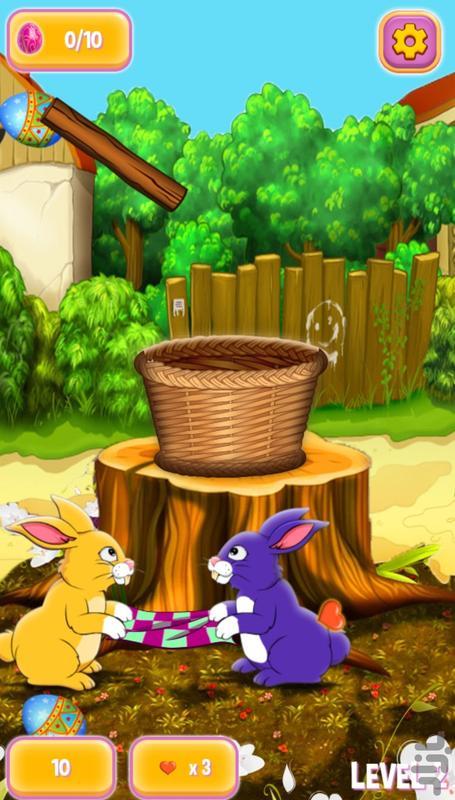 خرگوش های بازیگوش - عکس بازی موبایلی اندروید