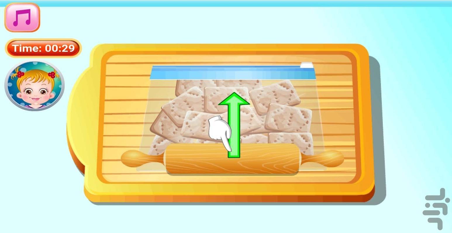 آشپزی تهیه کیک پنیری - عکس بازی موبایلی اندروید