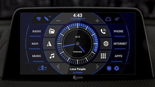 AGAMA Car Launcher - عکس برنامه موبایلی اندروید