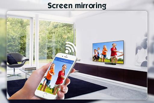 Screen Mirroring Display Phone Screen On TV - عکس برنامه موبایلی اندروید