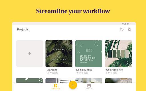 GoDaddy Studio: Graphic Design - عکس برنامه موبایلی اندروید