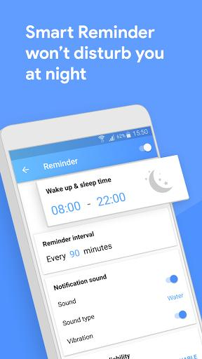 Water Tracker - Drink Water Reminder and Diet - عکس برنامه موبایلی اندروید