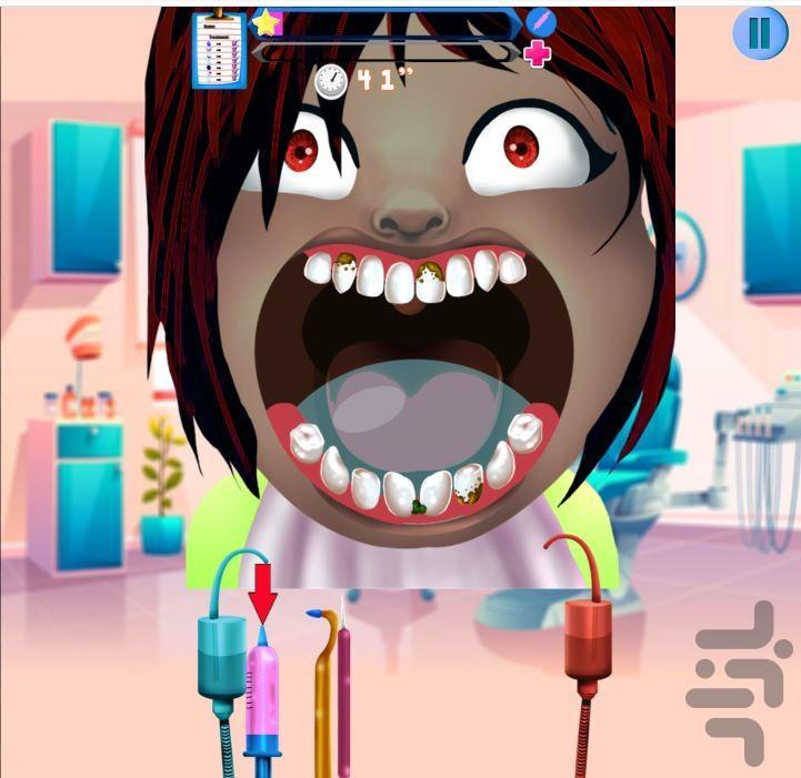 دندانپزشک کوچولو ها - عکس بازی موبایلی اندروید