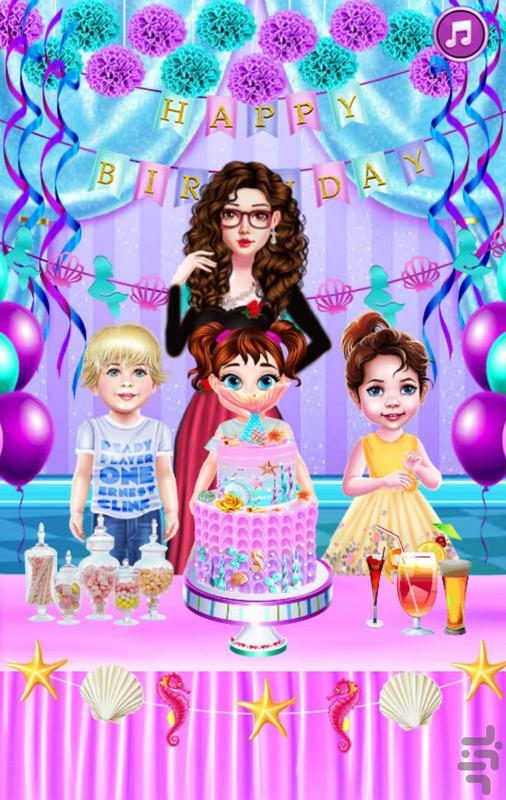تولد السا خانوم - عکس بازی موبایلی اندروید