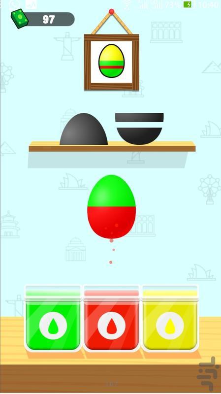 فروشگاه تخم مرغ رنگی - عکس بازی موبایلی اندروید