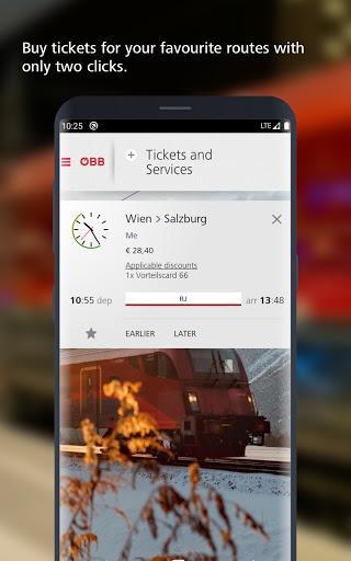 ÖBB – Train Tickets & More - عکس برنامه موبایلی اندروید