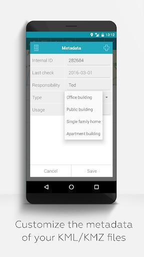 MAPinr-KML/KMZ/WMS/GPX/OFFLINE - عکس برنامه موبایلی اندروید