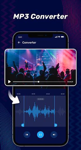 Audio Editor Pro - Music Editor, Sound Editor - عکس برنامه موبایلی اندروید