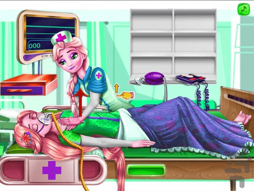 Elsa Emergency - Gameplay image of android game