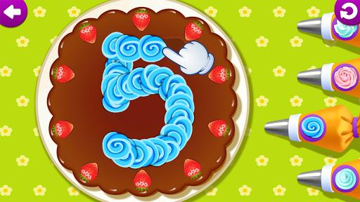 Funny Food 123! Kids Number Games for Toddlers - عکس بازی موبایلی اندروید