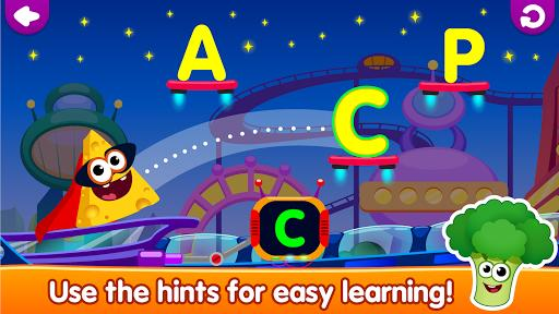 Funny Food!🥦learn ABC games for toddlers&babies📚 - عکس بازی موبایلی اندروید