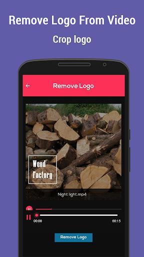Remove Logo From Video - عکس برنامه موبایلی اندروید