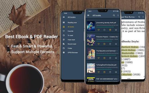 EBook Reader & PDF Reader - عکس برنامه موبایلی اندروید