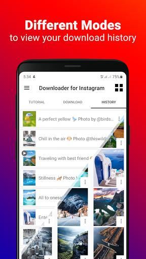 Video Downloader for Instagram - عکس برنامه موبایلی اندروید