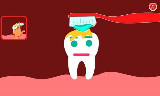 Emily Brushing Tooth - عکس بازی موبایلی اندروید
