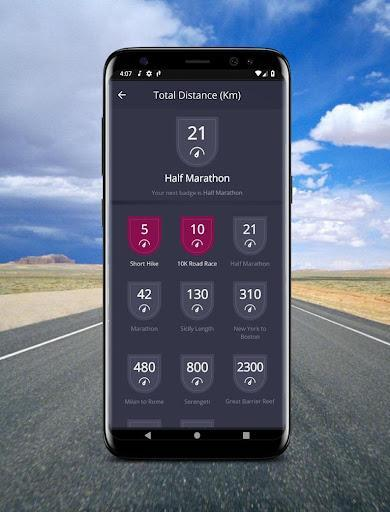 Pedometer - Step Counter & Pacer Calorie Burner - عکس برنامه موبایلی اندروید
