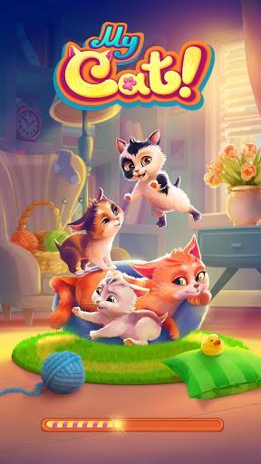 My Cat: My Virtual Pet 🐈 Tamagotchi Pet Simulator - عکس بازی موبایلی اندروید