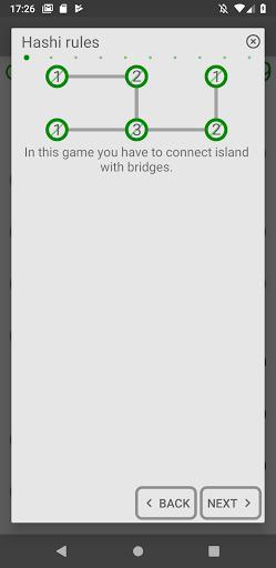 Hashi (Bridges) - عکس بازی موبایلی اندروید