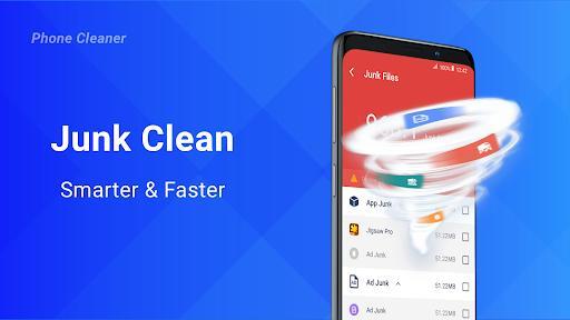Phone Cleaner Free: Clean phone space, Boost - عکس برنامه موبایلی اندروید