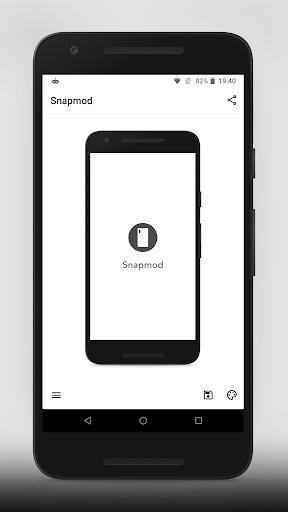 Snapmod - Better Screenshots mockup generator - Image screenshot of android app