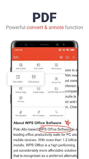 WPS Office - Free Office Suite for Word,PDF,Excel - عکس برنامه موبایلی اندروید