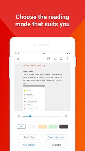 WPS PDF -  Free For PDF Scan, Read, Edit, Convert - عکس برنامه موبایلی اندروید