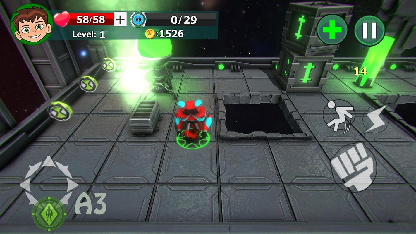 Ben10Fighter - Gameplay image of android game