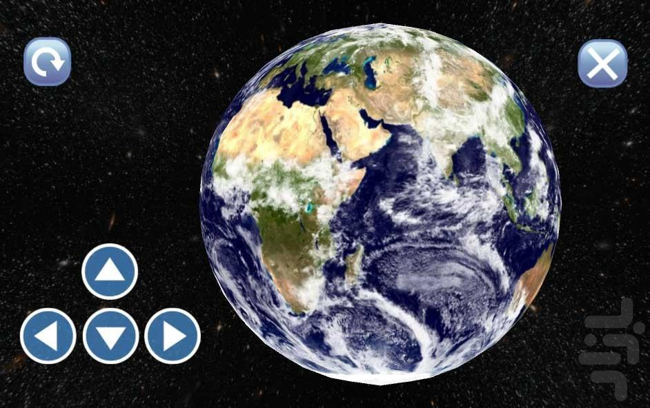 کره زمین - عکس برنامه موبایلی اندروید