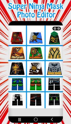 Super Ninja Mask Photo Editor - عکس برنامه موبایلی اندروید