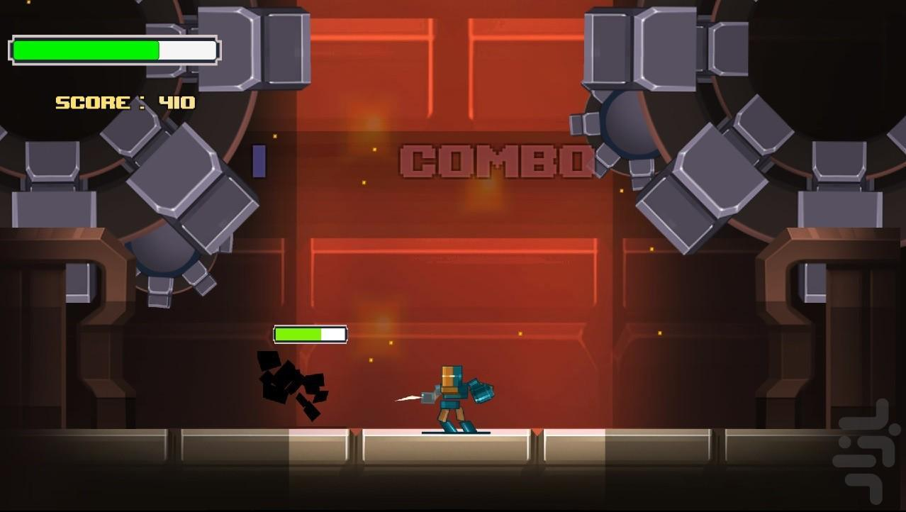 PunchBeat - Gameplay image of android game