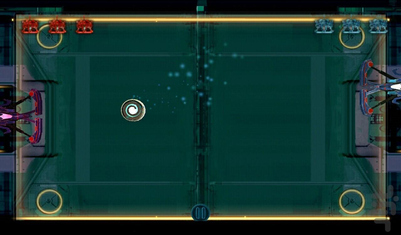SpacePong - Gameplay image of android game