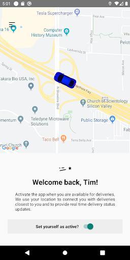 Curri Driver - عکس برنامه موبایلی اندروید