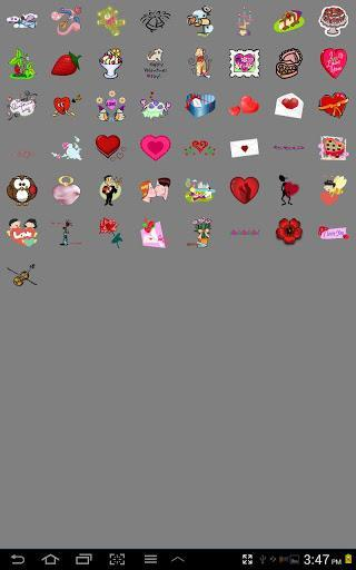 Love Stickers! for Doodle Text - عکس برنامه موبایلی اندروید