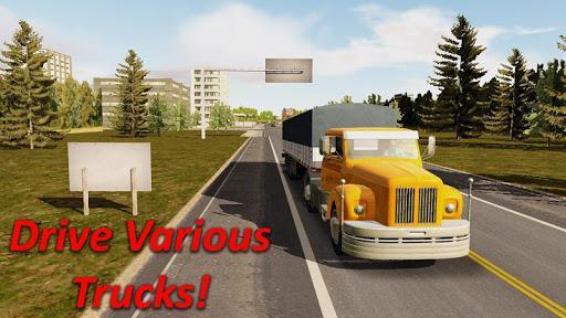 Heavy Truck Simulator - عکس بازی موبایلی اندروید
