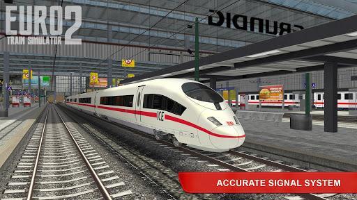 Euro Train Simulator 2 - عکس بازی موبایلی اندروید