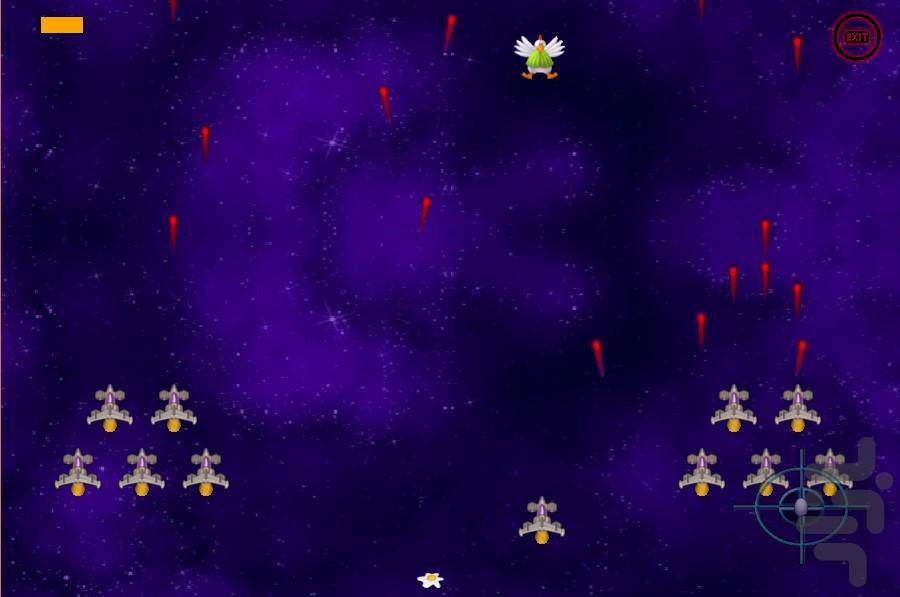 مرغ مدافع - عکس بازی موبایلی اندروید