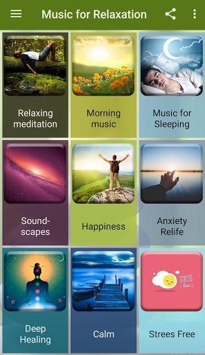 Relaxing Music for Sleep - عکس برنامه موبایلی اندروید