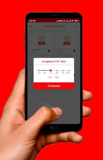 PDF Compressor App - عکس برنامه موبایلی اندروید