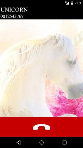 fake call unicorn game - عکس بازی موبایلی اندروید