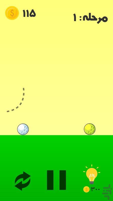 خط جادویی - عکس بازی موبایلی اندروید