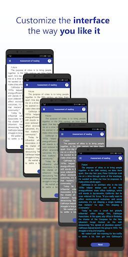 ReaderPro - Speed reading and brain development - عکس برنامه موبایلی اندروید