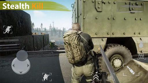 Forward Strike Warfare: Offline Shooting Games - عکس بازی موبایلی اندروید