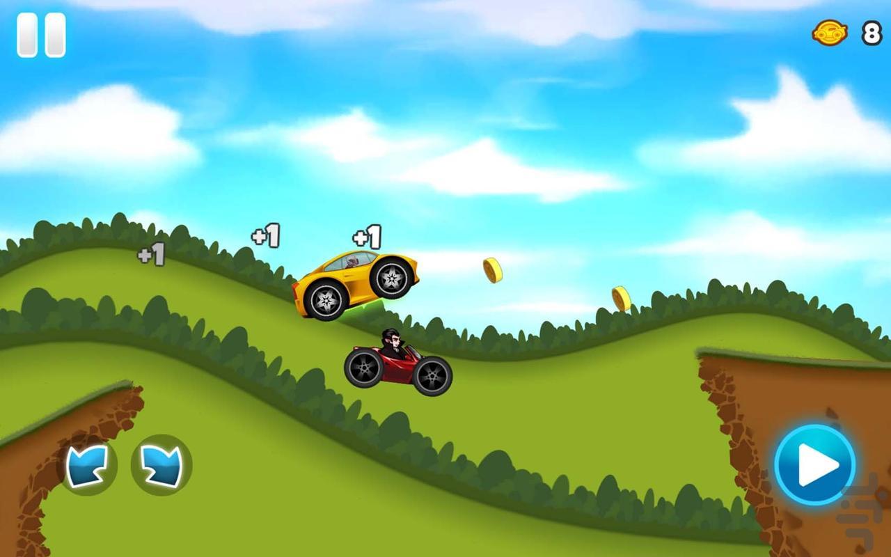 FunKidRacing - عکس بازی موبایلی اندروید