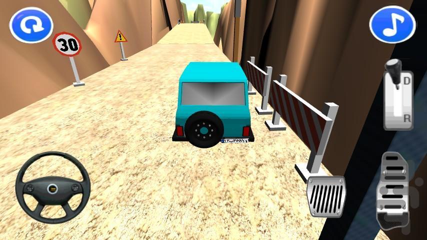 راننده مرگ - عکس بازی موبایلی اندروید
